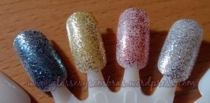 Izqda-Dcha: Bonanza, Lustre, Party pink y Stardust